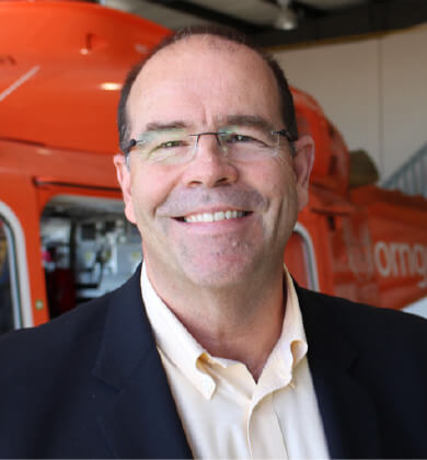 An image of Ornge Management member Dr. Andrew McCallum
