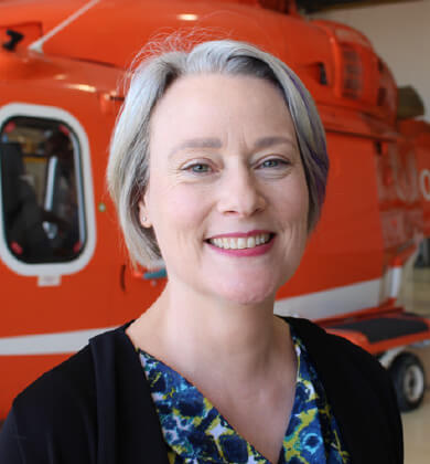 An image of Ornge Management member Susan Kennedy