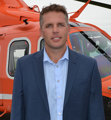 An image of Ornge Board member Wade Durham