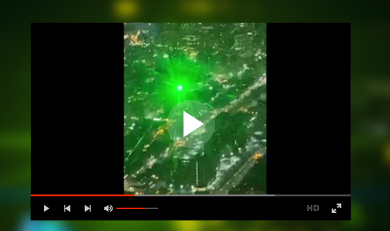 Green Laser Strike