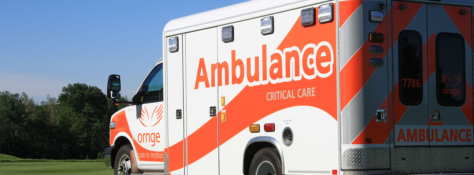 Ornge Critical Care Land Ambulance