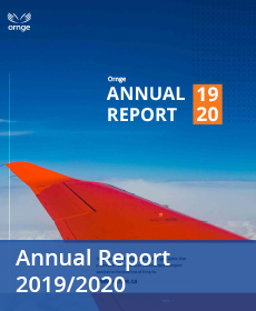 Annual Report 2019-2020 Cover Page