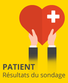Sondage sur la satisfaction des patients