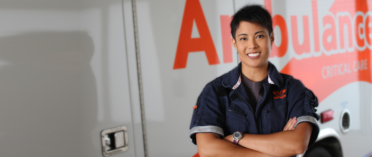 A photo of Paediatric Transport Paramedic, Laura Cercado