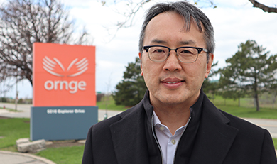 Homer Tien Ornge President and CEO