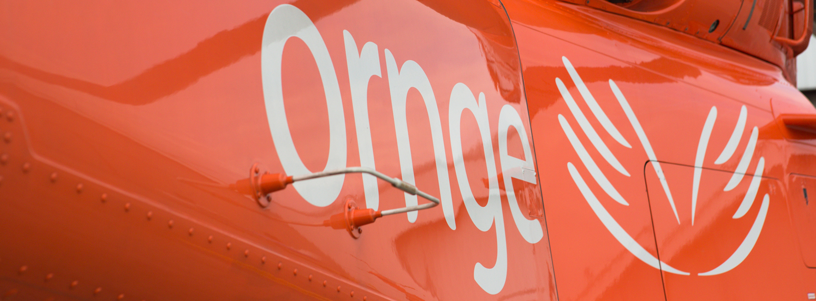 Ornge helicopter cowell