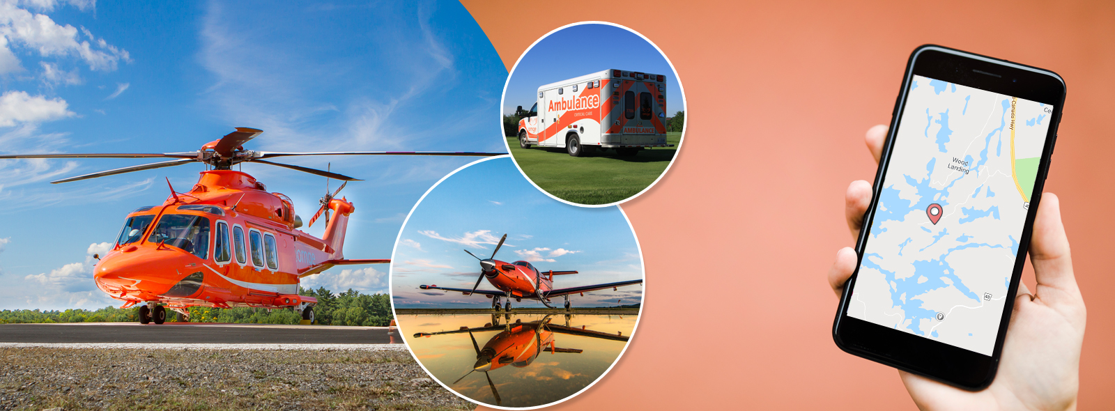 Cellphone and Ornge fleet